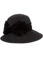 Scala Velvet Ribbon Hat - Product Mini Image