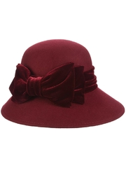 Dorfman Pacific Velvet Ribbon Hat - Product Mini Image