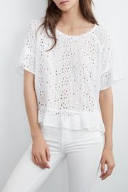 Velvet Ricky Eyelet Top - Product Mini Image
