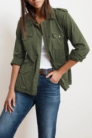 Velvet Ruby Army Jacket - Product Mini Image