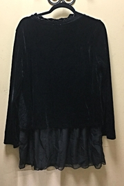Adore Velvet&Silk Top - Front full body