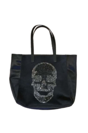 Ah!dorned VELVET SKULL TOTE - Product Mini Image