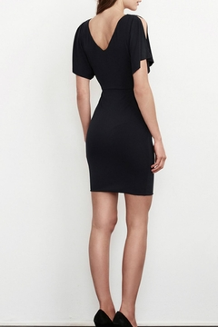 Velvet Slit Sleeve Dress - Alternate List Image