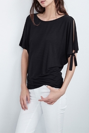Velvet Nella Split Sleeve Top - Product Mini Image