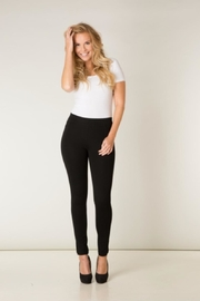 Yest Velvet Striped Leggings - Front cropped
