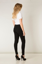 Yest Velvet Striped Leggings - Front full body