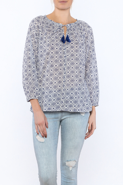 Shoptiques Product: Blue Summer Print Top
