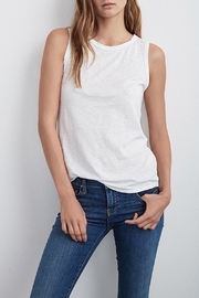 Velvet Taurus Cotton Slub Top - Product Mini Image