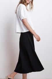 Velvet Terry Midi Skirt - Product Mini Image