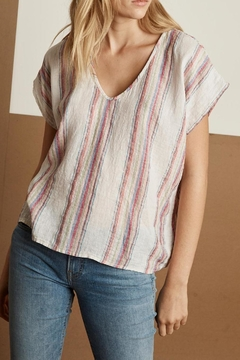 Velvet Tobbi Striped Top - Product List Image