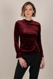 Molly Bracken Velvet top - Product Mini Image