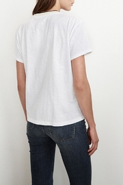 Velvet Tristan Cotton Tee - Front full body