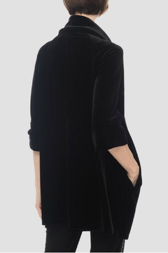 Joseph Ribkoff Velvet Tunic Jacket - Alternate List Image