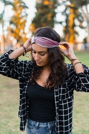 Lotus & Luna Velvet Twist Headband - Product Mini Image