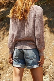 Velvet Wiley Marled Sweater - Back cropped