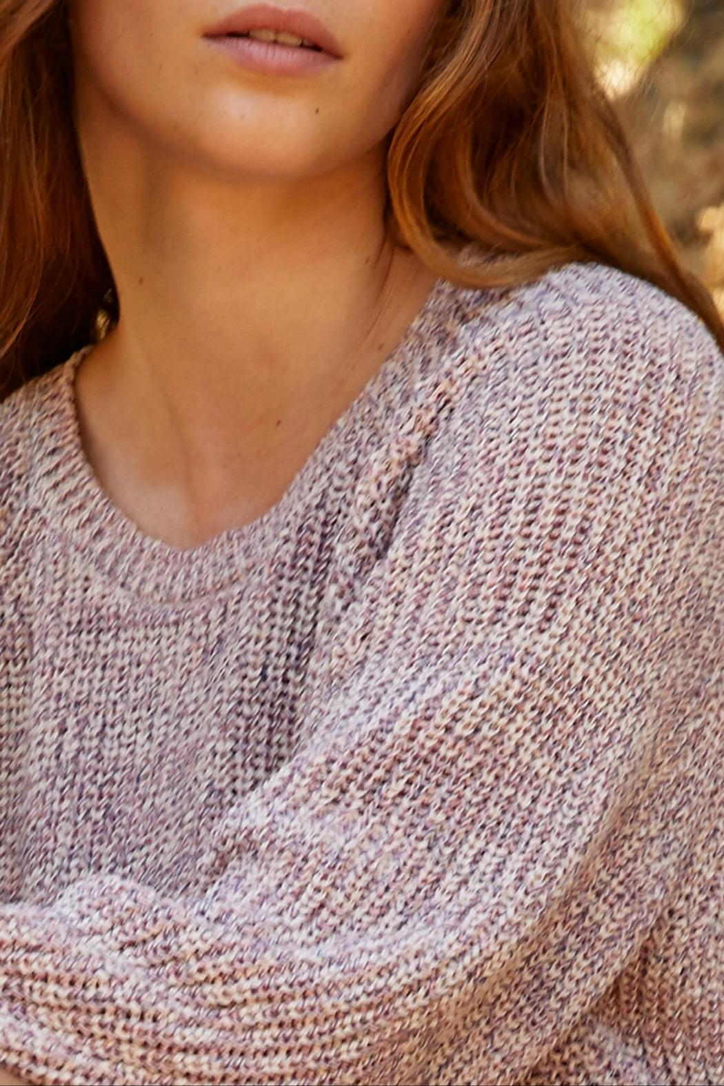Velvet Wiley Marled Sweater - Side Cropped Image