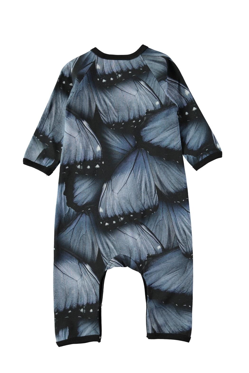 Molo Velvet Wings Playsuit - Front Full Image