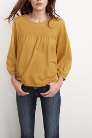 Velvet Winnah Cotton Slub Top - Front cropped