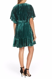 BB Dakota Velvet Wrap Dress - Side cropped