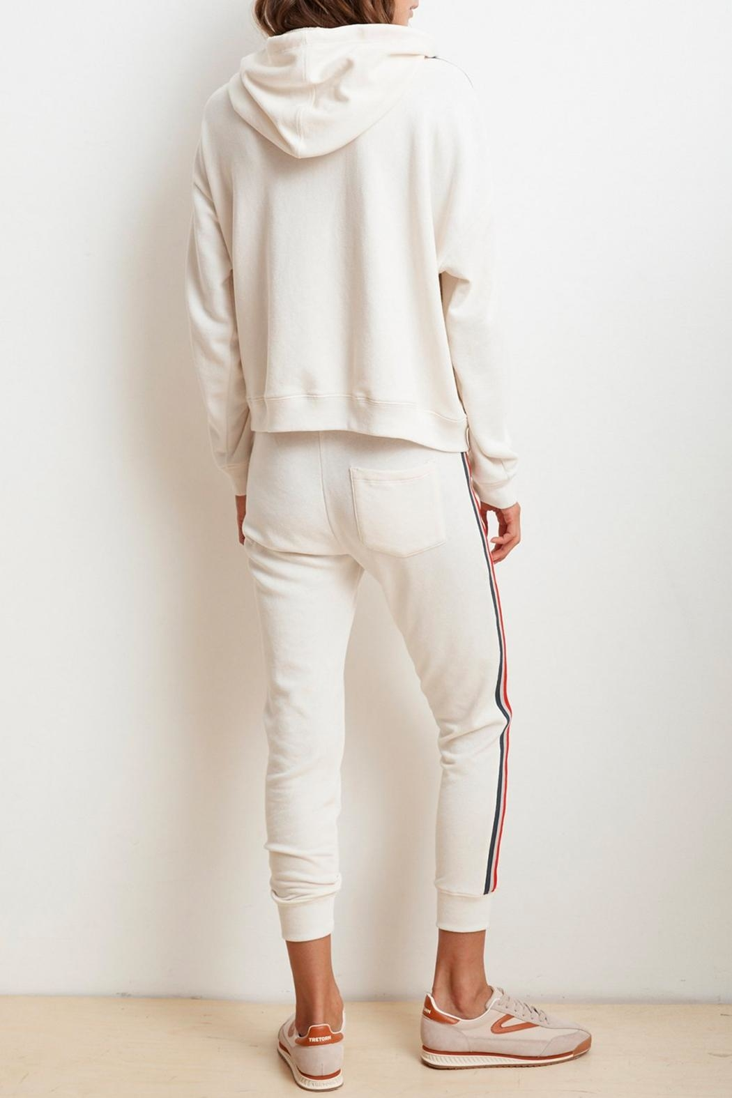 Velvet Xia Terry Jogger - Side Cropped Image