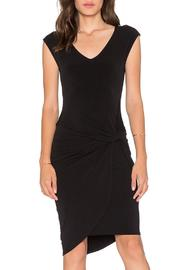 Velvet Stretch Jersey Dress - Product Mini Image