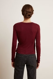 Velvet by Graham and Spencer Janessa Wrap Top - Front full body