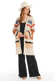 Velvet by Graham and Spencer Striped Multi Cardigan - Front cropped