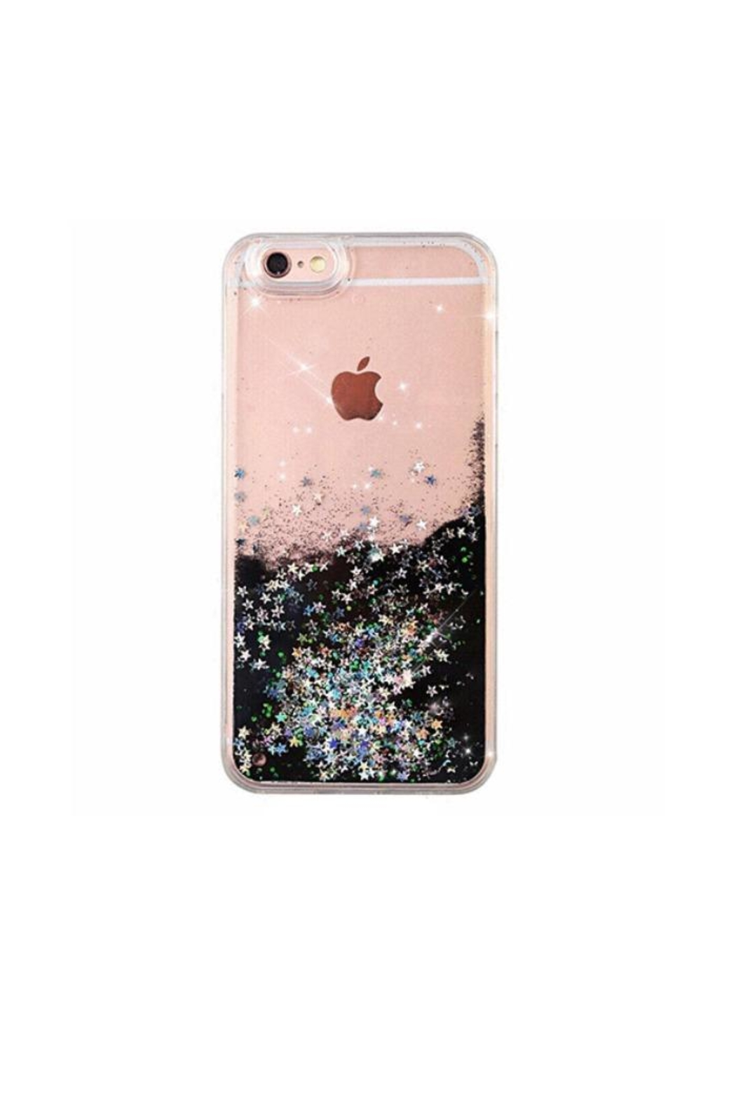 Velvet Caviar Black Glitter Iphone6p - Front Cropped Image