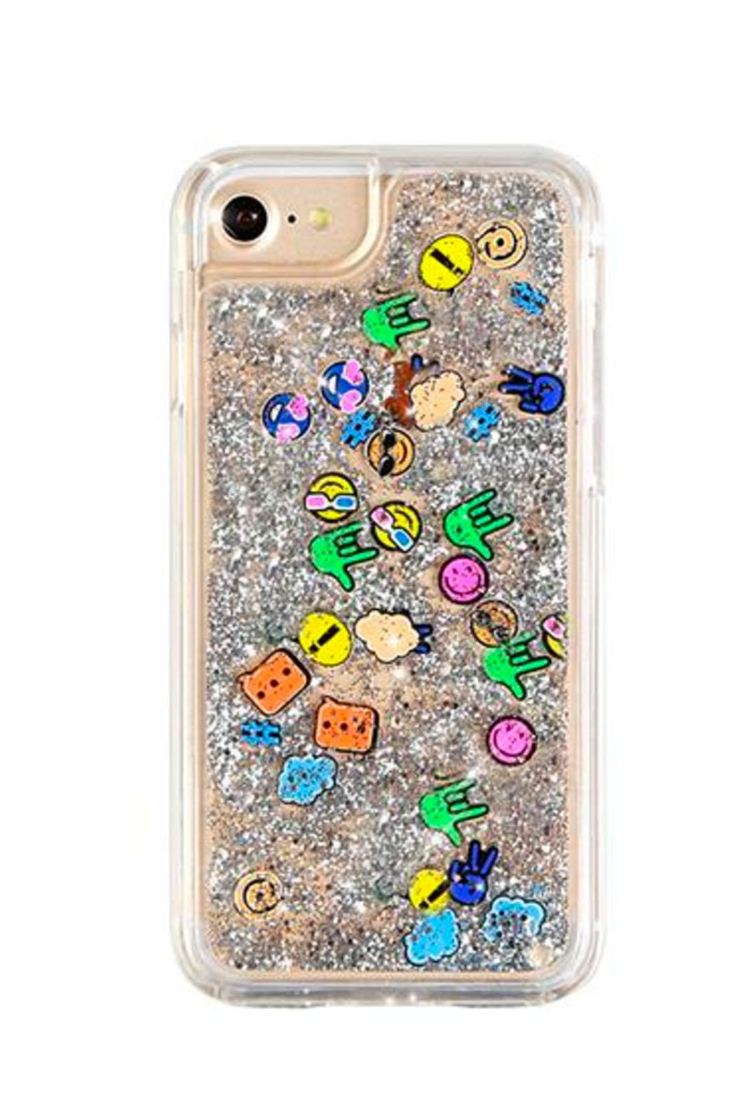 Velvet Caviar Emoji Confetti IPhone 6 Case - Front Cropped Image