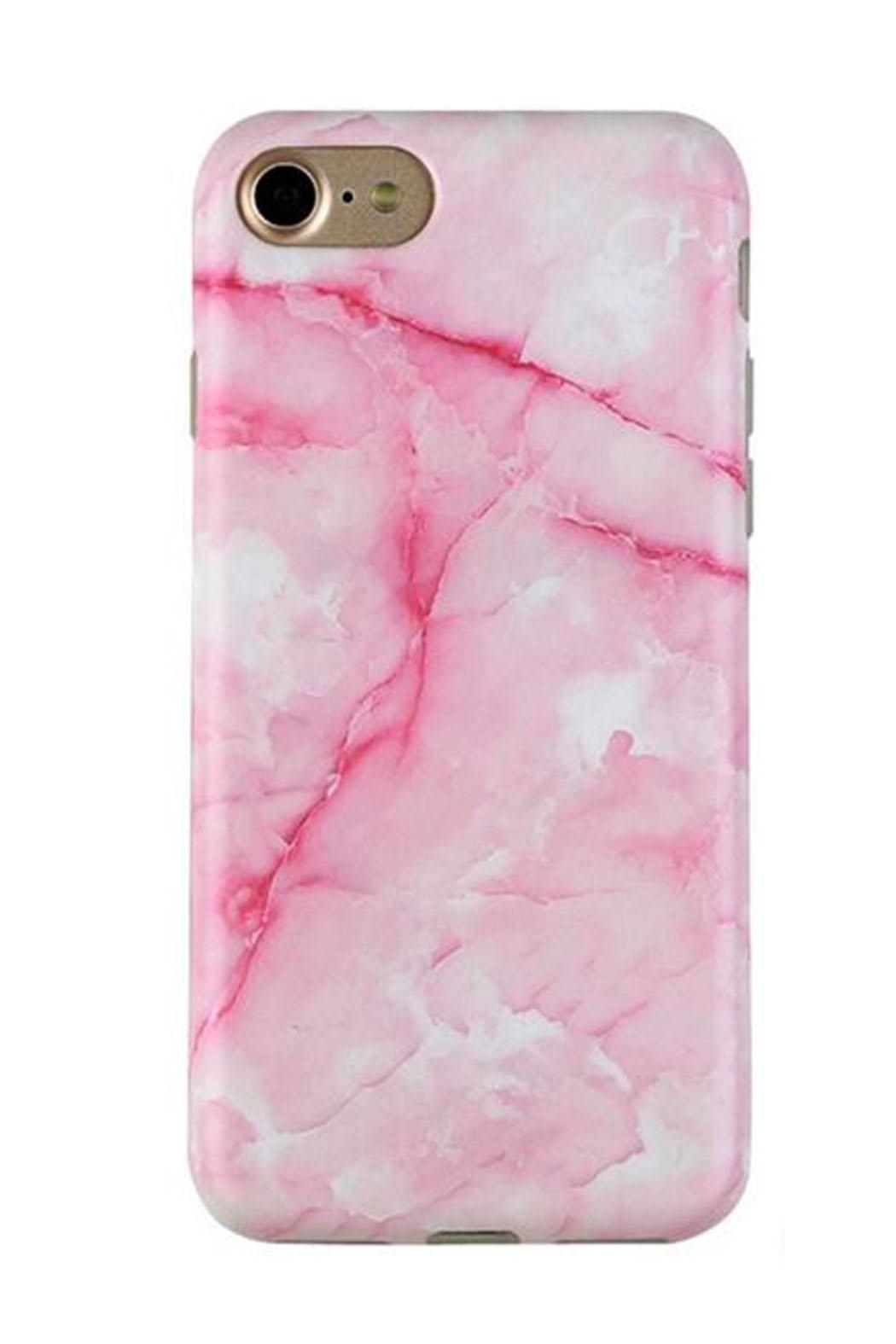 Velvet Caviar Pink Marble Smartphone Case - Main Image