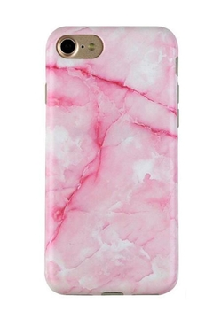 Shoptiques Product: Pink Marble Smartphone Case