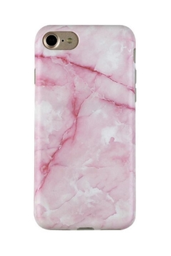 Shoptiques Product: Pink-Streak Marble Iphone7