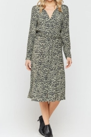 Velvet Heart Button Down Midi-Dress - Product Mini Image