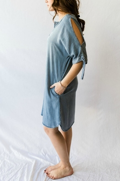 Velvet Heart Chambray Summer Dress - Alternate List Image