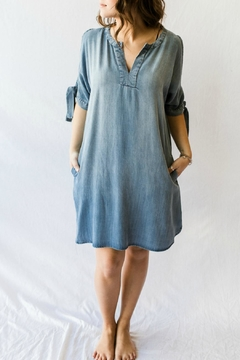 Velvet Heart Chambray Summer Dress - Product List Image