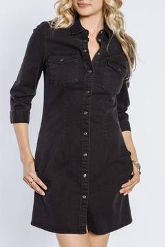 Velvet Heart Dress Denim Snaps - Product List Image