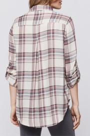 Velvet Heart Elisa Plaid Button-Up - Front full body