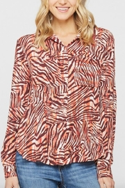 Velvet Heart Nolita Zebra Blouse - Product Mini Image