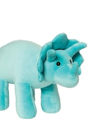 Manhattan Toy Company Velveteen Dino Spike Triceratops - Product Mini Image