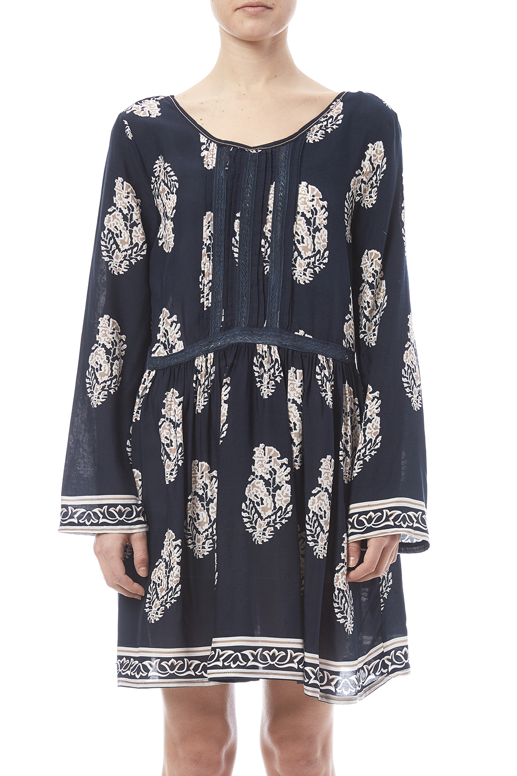 Velzera Boho Dress - Side Cropped Image