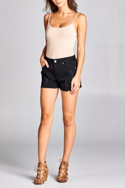 Velzera Distressed Denim Shorts - Product Mini Image