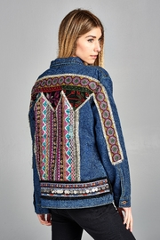 Velzera Embellish Embroidered Jacket. - Product Mini Image