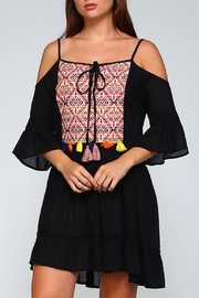 Velzera Embroidered Dress - Product Mini Image