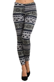 Velzera Fair Isle Leggings - Product Mini Image