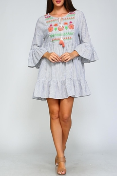 Shoptiques Product: Geometric Swing Dress