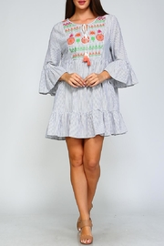 Velzera Geometric Swing Dress - Product Mini Image