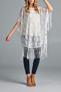 Shoptiques Product: Lace Fringe Cover Up