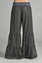 Velzera Palazzo Lace Pants - Side cropped