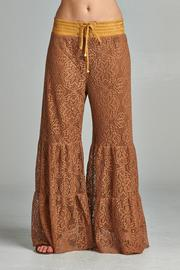 Velzera Palazzo Lace Pants - Product Mini Image