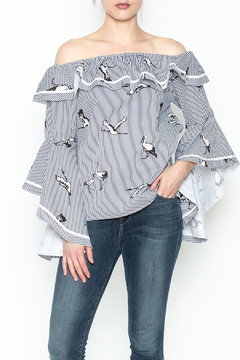 Shoptiques Product: Pelican Stripe Top